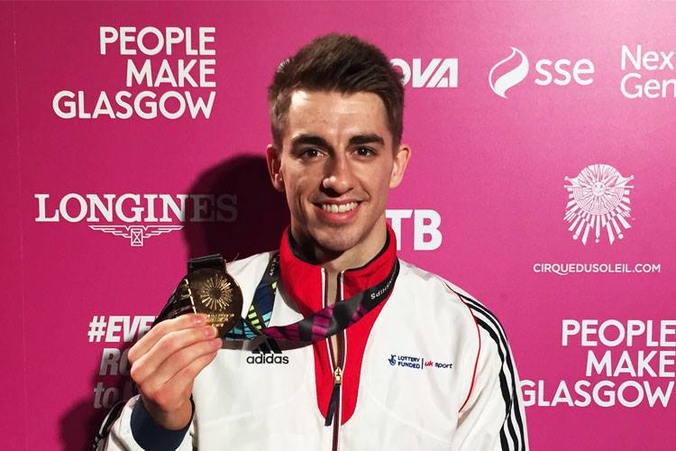 Max Whitlock crowned pommel World Champion