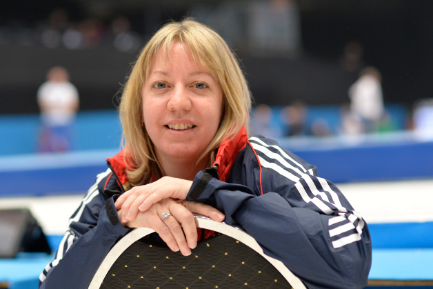 Britain's Hanley the first female men's artistic Worlds judge