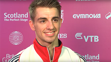 We spoke to Max Whitlock after his historic gold medal on pommel.