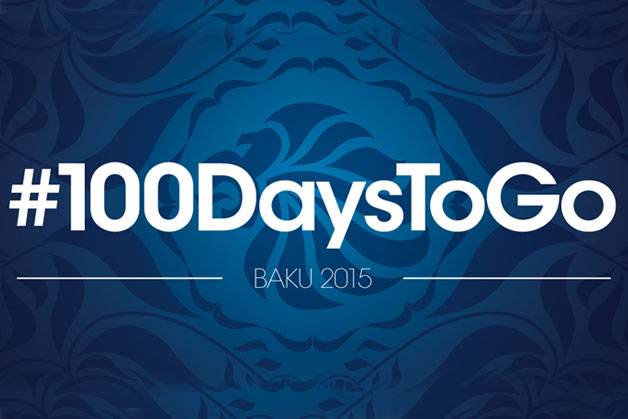 100 days to go until the first ever European Games