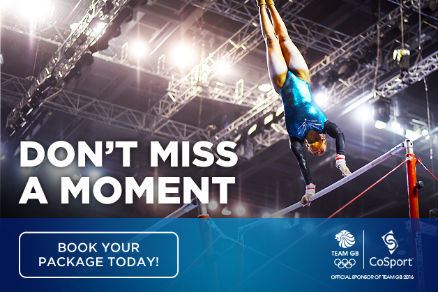 Be there with Team GB in Rio next year!