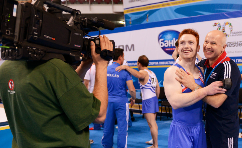 BBC to broadcast live from the 2016 British Gymnastics Championships