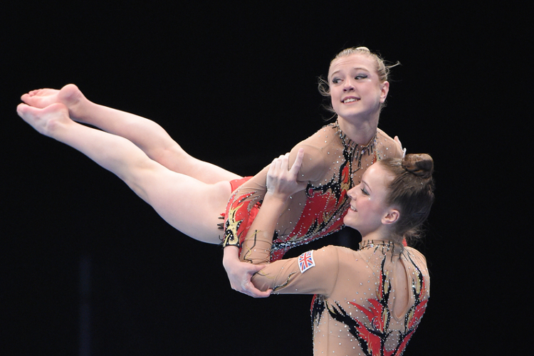 GB in the medals at acrobatic European Championships