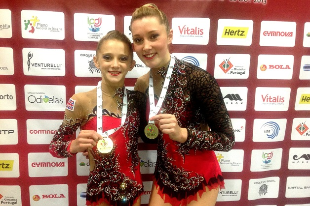GB take eight all around medals at the 2013 Acro Europeans