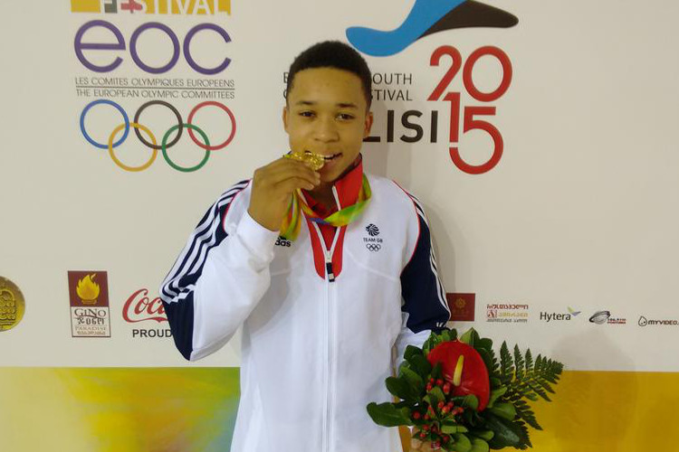 Joe Fraser crowned Youth Olympic champion
