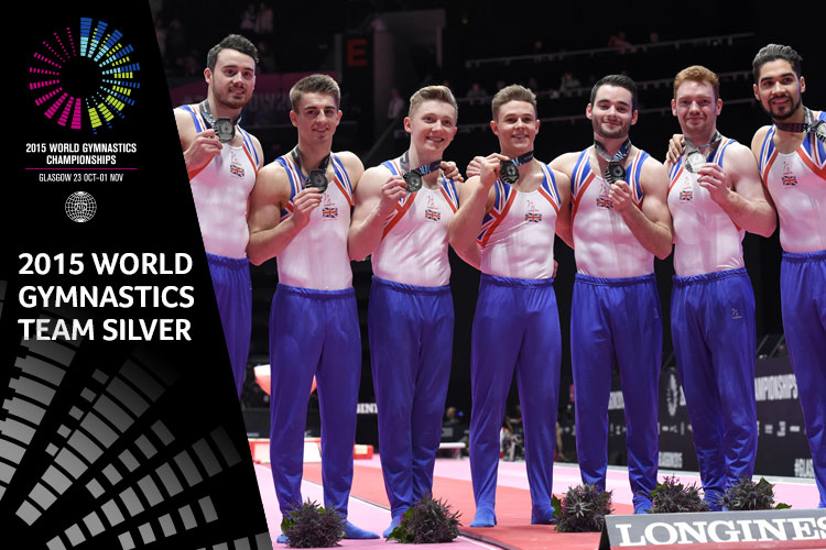 GB men make history with World Championship silver
