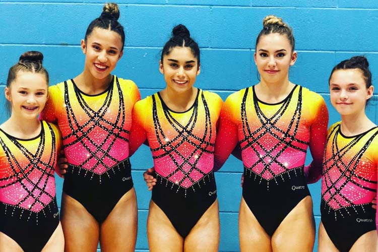 The Academy come out on top in battle of British teams - British Gymnastics