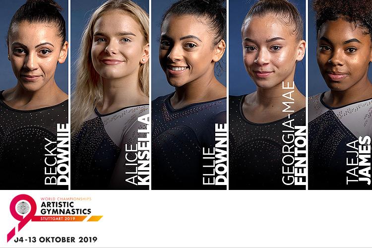 Meet the women's 2019 Artistic World Championships team - British Gymnastics