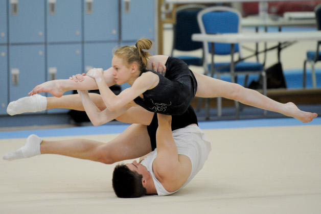 Acrobatic gymnasts selected for European Championships