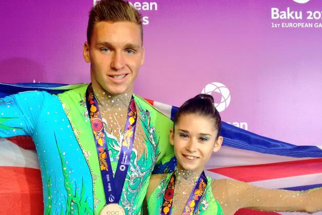European Games bronze for Bartlett and Baughn