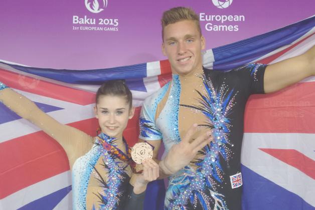Third bronze for Bartlett and Baughn