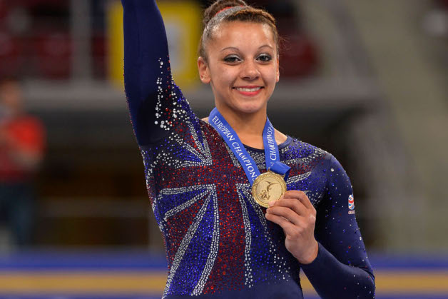 Becky Downie becomes European Champion