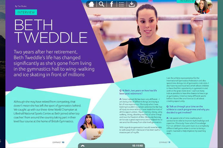 Catching up with gymnastics legend Beth Tweddle MBE
