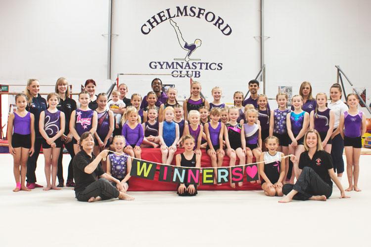 Chelmsford Gymnastics Club win £1000 worth of Gymnova equipment