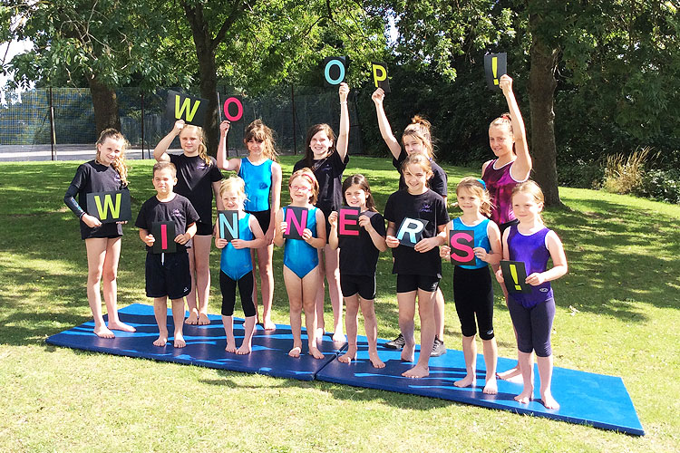 Farnham gymnasts win prize to start the 2015 World Championships