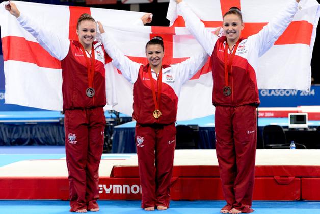 England glorious in women's final