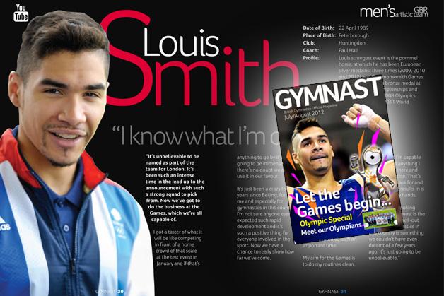 gymnast magazine