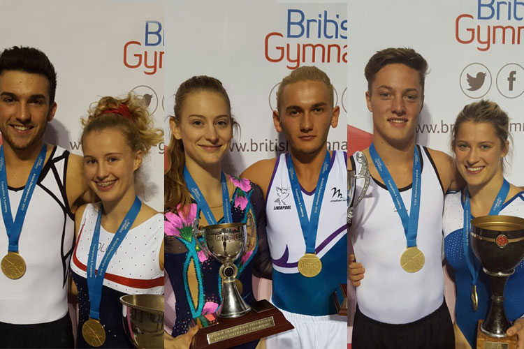 British trampoline, tumbling and DMT titles decided