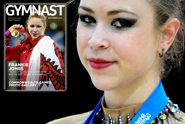 September 2014 issue of the GYMNAST out now