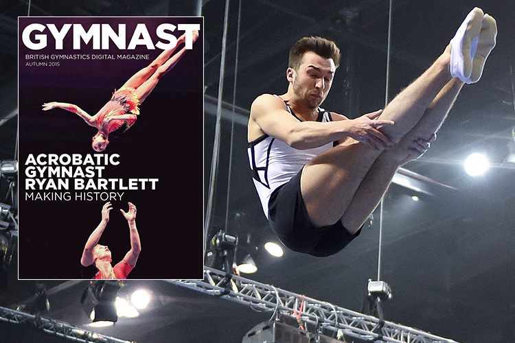 Autumn issue of The Gymnast magazine out now
