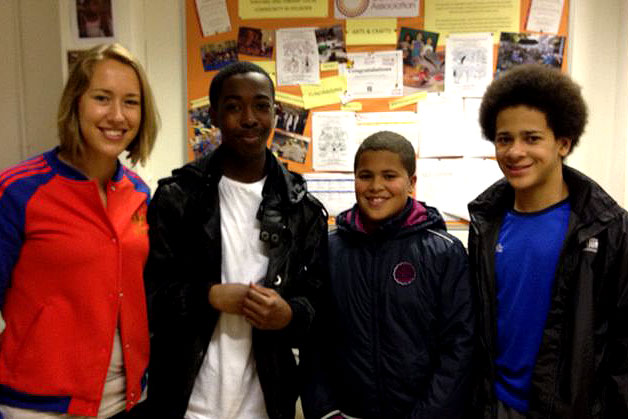 Lizzy Yarnold and the BBC check out MYClub - find out more