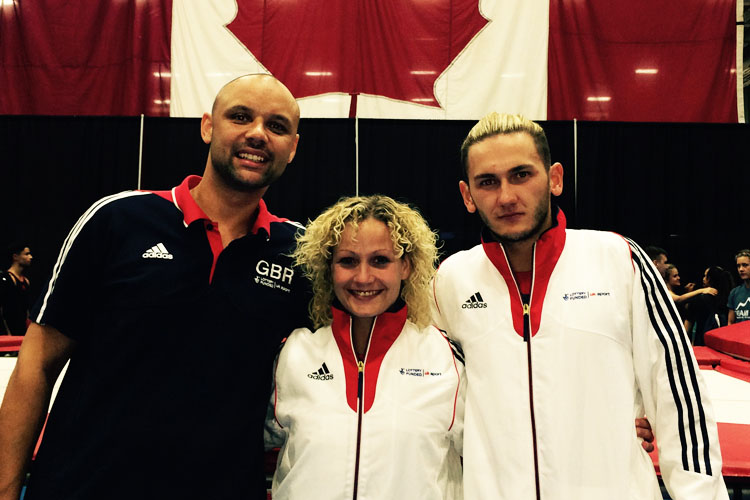 Luke Strong strikes gold in Canada
