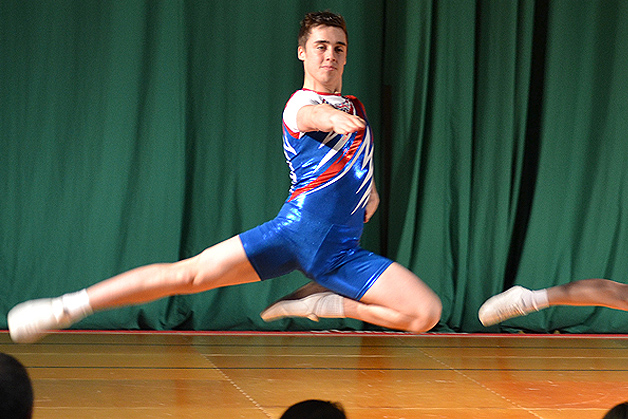 One to watch – Aerobic Champion Matthew Saunders