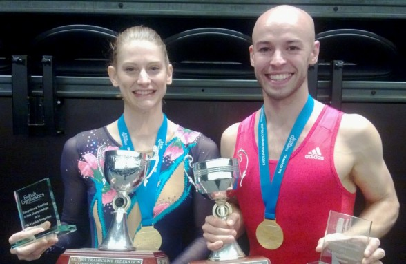 Trampoline, tumbling & DMT Champions crowned