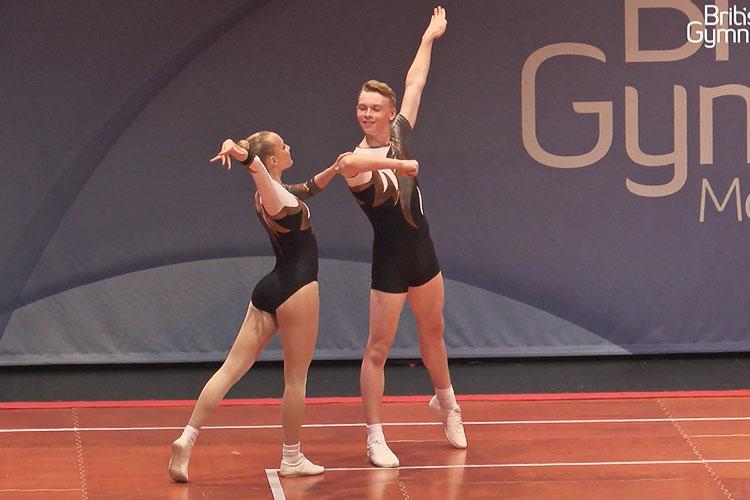 GB aerobics team impress at 2015 Czech Open
