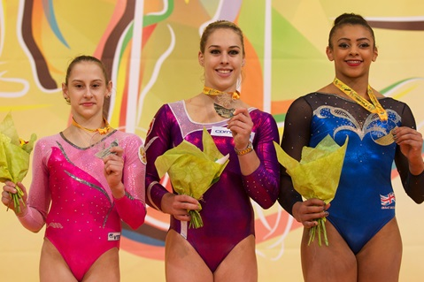 Ellie Makes History With Bronze in the All-Around