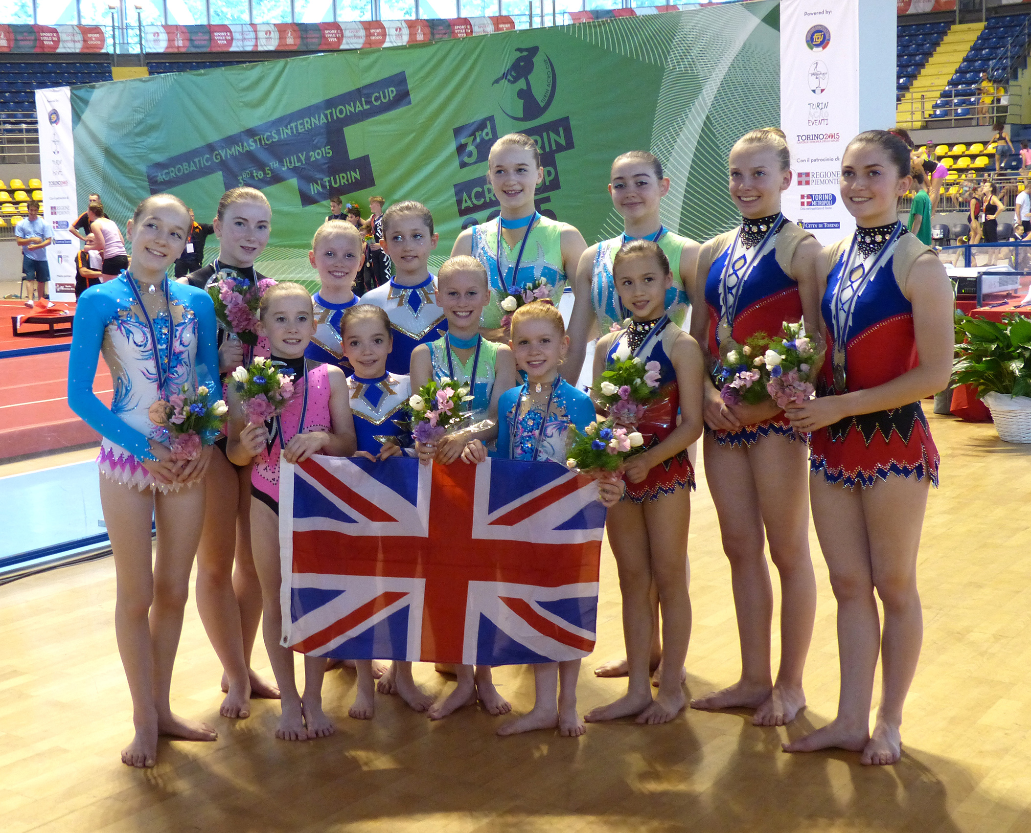Golden Days for Oxford Gymnasts at Italian International