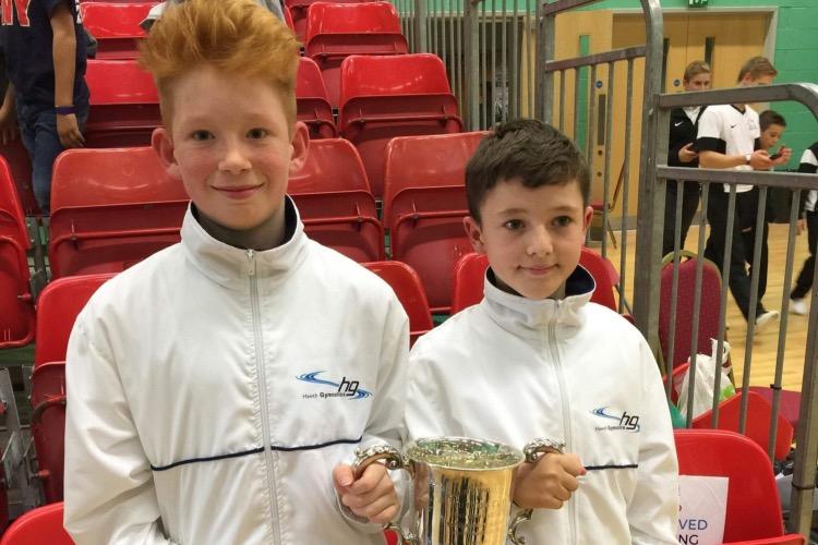 Hawth Gymnastics Celebrate Competition Successes