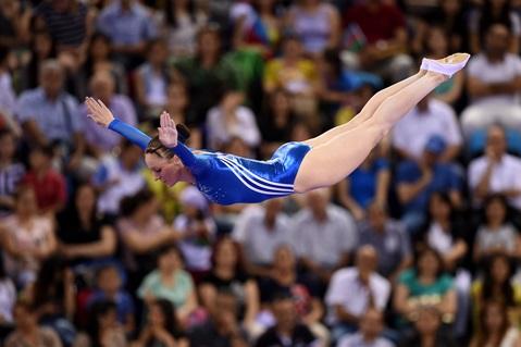Kat Takes European Games Silver