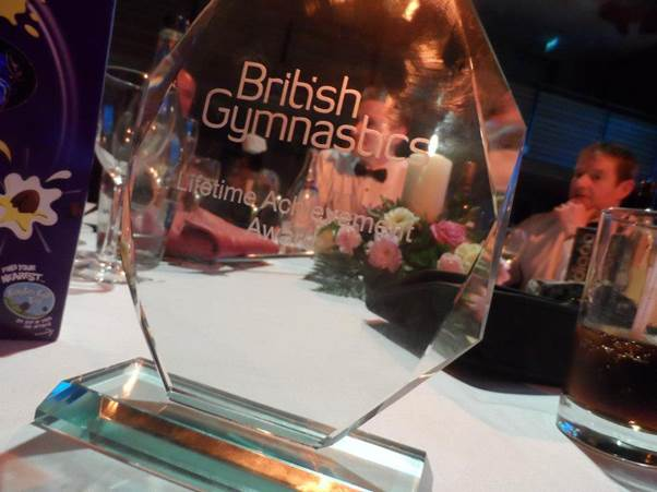 British Gymnastics Northern Ireland Awards 2015