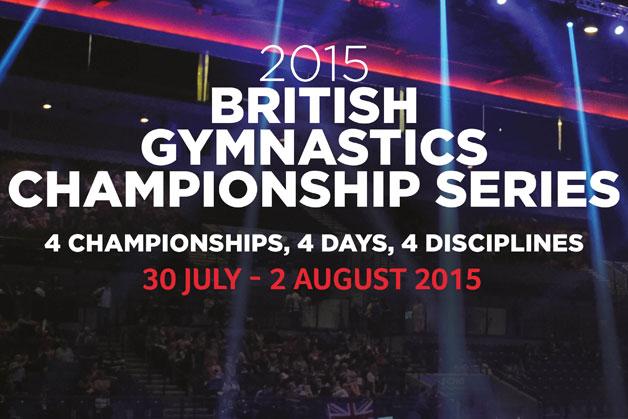 British Gymnastics Championship Series tickets