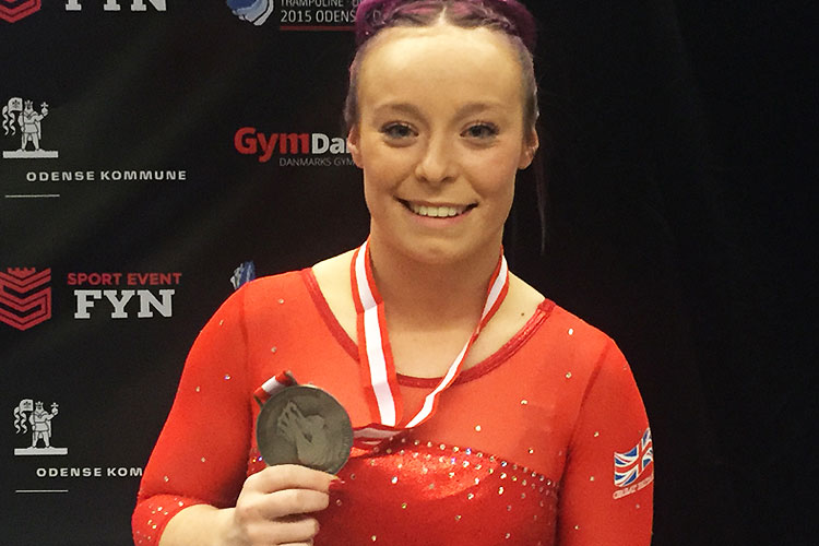 World silver for GB on final day of Trampoline, Tumbling & DMT World Championships