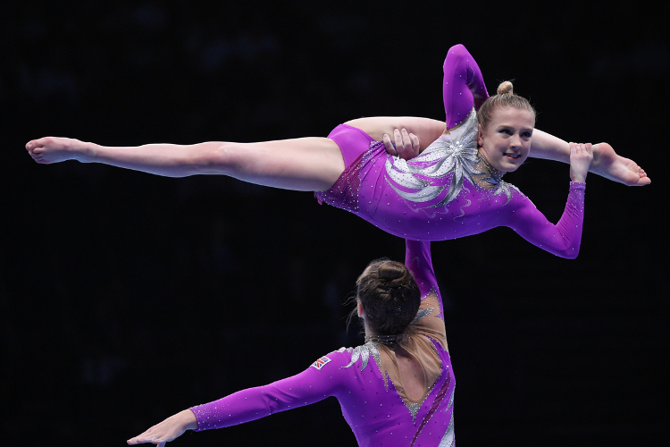 Superb performances at acrobatic British championships